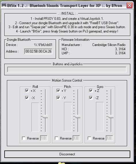 forums ps2dev org :: View topic - SIXAXIS under Windows